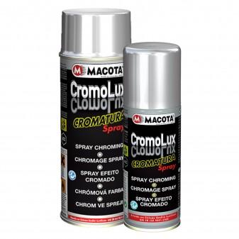 Vernice Spray Macota Cromolux - Smalto Effetto Cromatura Resistente al Calore