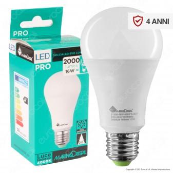 Marino Cristal Serie PRO Lampadina LED E27 16W Bulb A65 - mod. 21330