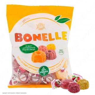 Caramelle Bonelle Le Gelées ai Gusti Frutta Senza Glutine 100% Vegane - Busta da 175g