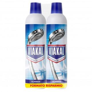 Viakal Liquido Classico Anticalcare - 2 Flaconi da 700 ml