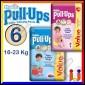 Huggies PullUps Pannolini Taglia 6 (16-23 kg) Box da 22 Mutandine [TERMINATO]