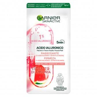 Garnier SkinActive Acido Ialuronico Maschera in Tessuto Ampolla Rassodante