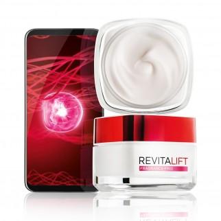 L'Oréal Paris Revitalift Fragrance Free Crema Giorno Anti-Età - Barattolo da 50ml