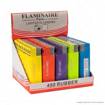 Flaminaire Accendini Elettronici Fantasia 480 Rubber - Box da 50 Accendini