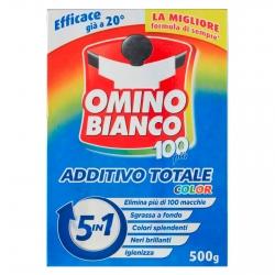Omino Bianco Additivo Totale Color 5in1 in Polvere - Confezione da 500g