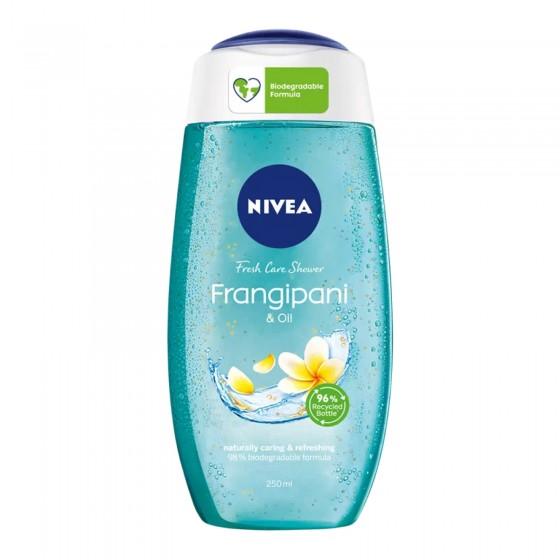 Nivea Doccia Gel Frangipani & Oil Detergente Idratante Rinfrescante - Flacone da 250 ml