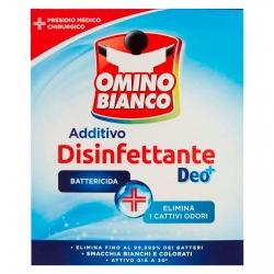 Omino Bianco Additivo Disinfettante in Polvere con Tecnologia DEO+ Presidio Medico Chirurgico- Confezione da 450g