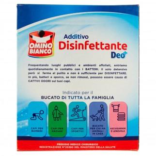 Omino Bianco AdditivoDisinfettante in Polvere con Tecnologia DEO+ Presidio Medico Chirurgico- Confezione da 450g