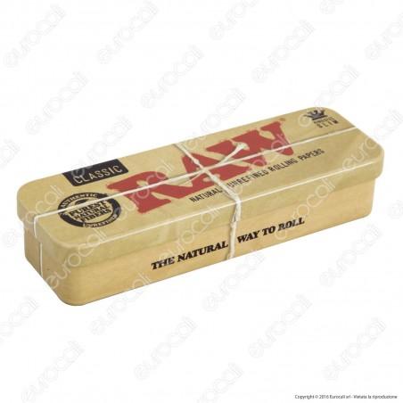 Raw Roll Caddy Scatolina in Metallo Porta Cartine Portatutto