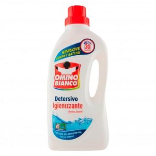Omino Bianco Detersivo Liquido Igienizzante - Flacone da 1,5 Litri
