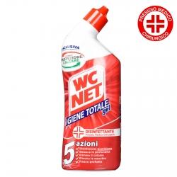 WC Net Igiene Totale Gel Disinfettante Elimina Calcare e Batteri Presidio Medico Chirurgico - Flacone da 700ml