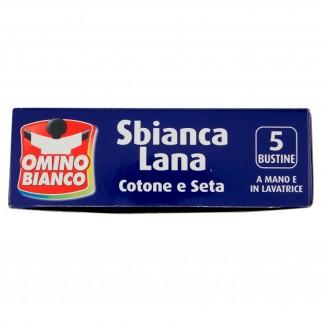 Omino Bianco Sbianca Lana Cotone e Seta - Confezione da 5 Bustine