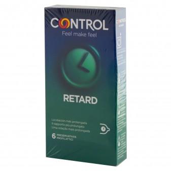 Preservativi Control Non Stop Retard - Scatola da 6 / 12 Profilattici
