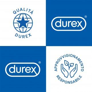 Preservativi Durex Comfort XL Taglia Extra Large con Forma Easy On - Confezione da 12 Profilattici