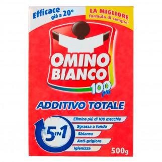 Omino Bianco 100 Più Additivo Totale 5in1 - Confezione da 500g