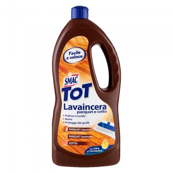 Smac Tot Lavaincera Parquet e Cotto Detergente Pavimenti - Flacone da 1 Litro