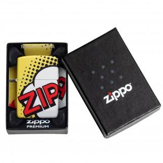 Accendino Zippo Mod. 49533 Zippo Pop Art - Ricaricabile Antivento