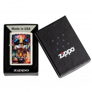 Accendino Zippo Mod. 49579 Tiger - Ricaricabile Antivento