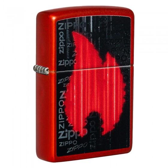 Accendino Zippo Mod. 49584 - Ricaricabile Antivento