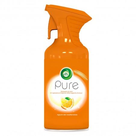Air Wick Spray Pure Agrumi del Mediterraneo - Flacone da 250ml