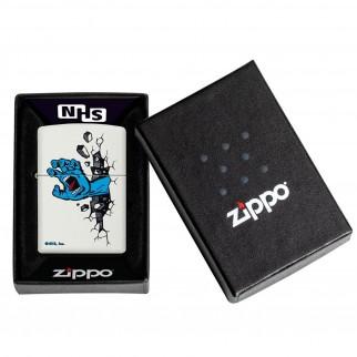 Accendino Zippo Mod. 49614 Santa Cruz - Ricaricabile Antivento