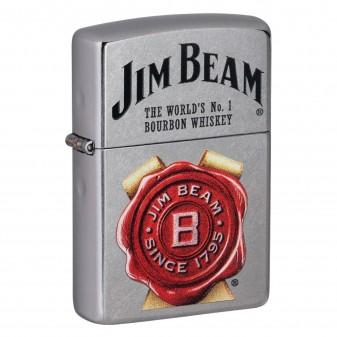 Accendino Zippo Mod. 49326 Jim Beam® - Ricaricabile Antivento