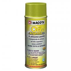 Vernice Spray Macota Ori e Argento - Smalto ad Alto Potere di Brillantezza