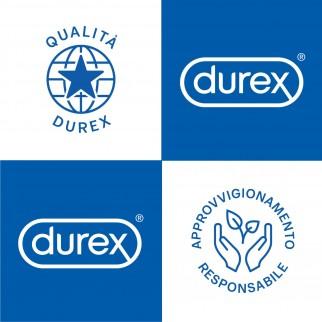 Preservativi Durex Pleasure Max con Forma Easy-On e Rilievi Stimolanti - Confezione da 6 Profilattici