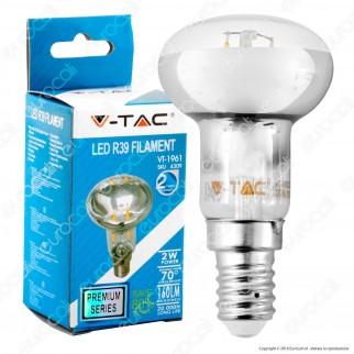 V-Tac VT-1961 Lampadina LED E14 2W Bulb Reflector R39 Filament - SKU 4309