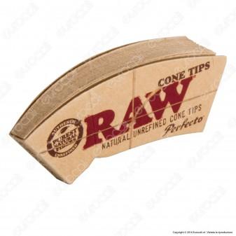 Raw Cone Tips Filtri in carta -  Confezione da 21 filtri