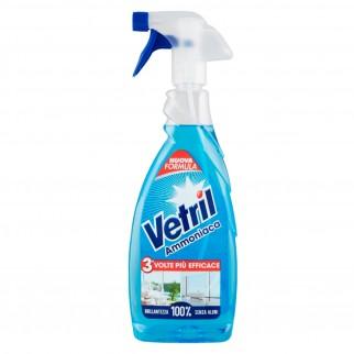 Vetril Ammoniaca Detergente Spray - Flacone da 650ml