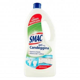 Smac Gel con Candeggina Igienizzante con Agenti Sbiancanti - Flacone da 850ml