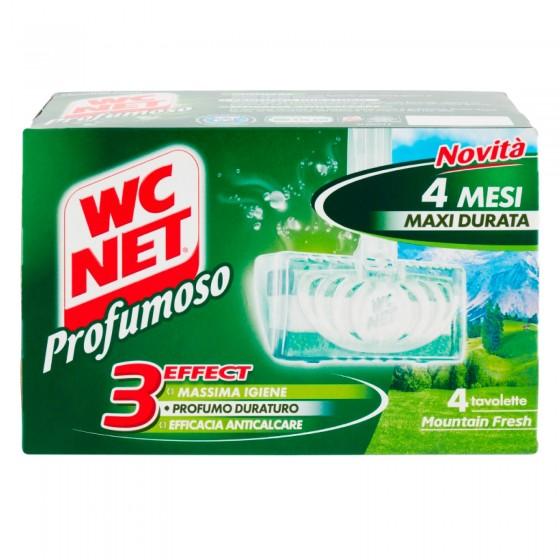 WC Net Profumoso Mountain Fresh - Confezione da 4 Tavolette