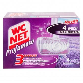 WC Net Profumoso Lavander Fresh - Confezione da 4 Tavolette