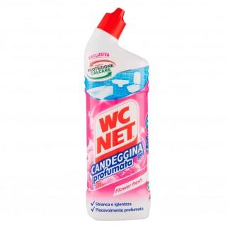 WC Net Candeggina Gel con Bicarbonato Flower Fresh - Flacone da 700ml