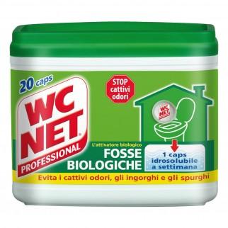 WC Net Professional Fosse Biologiche - Confezione da 20 Capsule