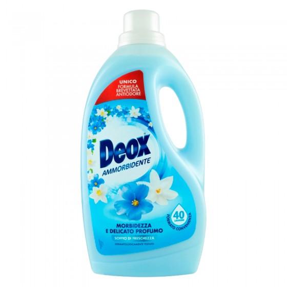 Deox Ammorbidente Soffio di Freschezza con Tecnologia Antiodore - Flacone da 2 Litri