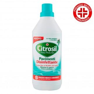 Citrosil Detergente Pavimenti Disinfettante con Essenze di Eucalipto Presidio Medico Chirurgico - Flacone da 900ml