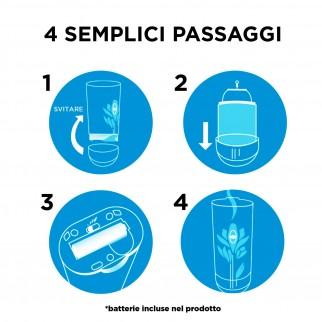 Air Wick Pure Freshmatic Vaniglia e Thè Bianco - Ricarica Spray da 250ml