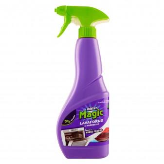 Mister Magic Lavaforno e Barbecue Detergente Spray - Flacone da 500ml