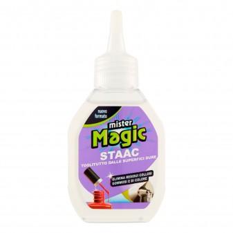 Mister Magic Staac Toglitutto dalle Superfici Dure - Flacone da 80ml