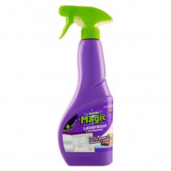 Mister Magic Lavafrigo e Microonde Detergente Spray - Flacone da 500ml