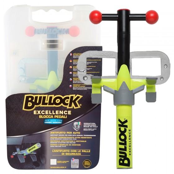 Bullock Excellence Blocca Pedale Antifurto per Auto con Cambio Manuale mod. K / W