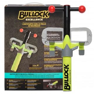 Bullock Excellence Blocca Pedale Antifurto per Auto con Cambio Manuale mod. K / W / X