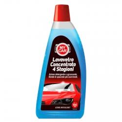 My Car Liquido Lavavetro Concentrato 4 Stagioni con Azione Anticalcare - Flacone da 1000ml