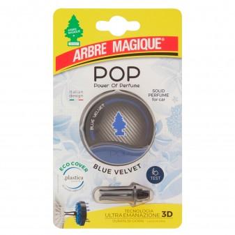 Arbre Magique Pop Profumatore Solido per Auto Fragranza Blue Velvet Lunga Durata
