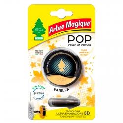 Arbre Magique Pop Profumatore Solido per Auto Fragranza Vanilla Lunga Durata