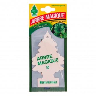 Arbre Magique Classic Profumatore Solido per Auto Fragranza Menta Glaciale Lunga Durata