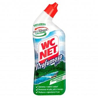 WC Net Profumoso Gel Igienizzante Anticalcare Elimina i Cattivi Odori - Flacone da 700ml