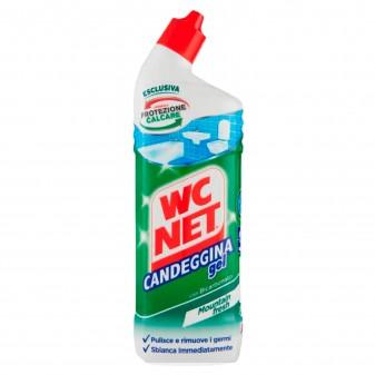 WC Net Candeggina Gel con Bicarbonato Sbiancante - Flacone da 700ml